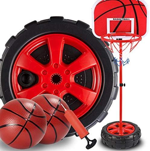 バスケットボールは、生徒の屋外垂直子どもたちが撮影フレームのおもちゃのホームボーイズ屋内子供のプレイを持ち上げることができるスタンド