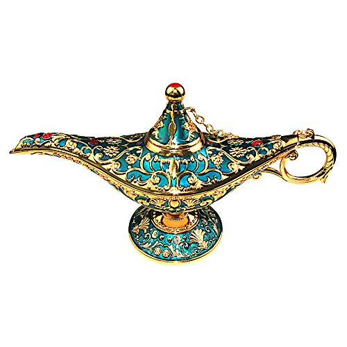 Genies Lamp - SUNMALL Vintage Legend Aladdin Lamp Magic