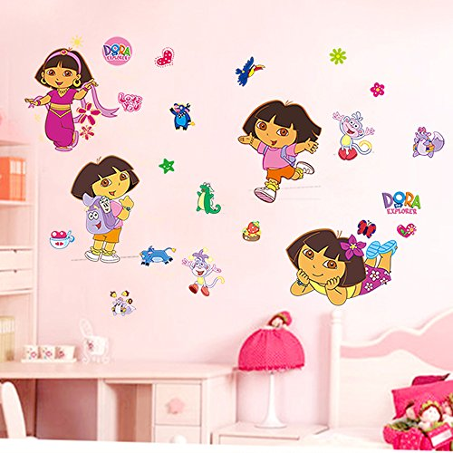 Cartoon Wall Sticker Decals for Kids Baby Playroom