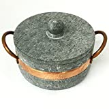 Brazilian Soap Stone Stew Pot - Small - Panela de Pedra