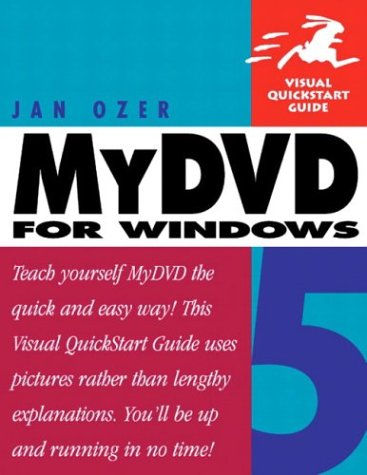 MyDVD 5 for Windows (Visual QuickStart Guide) PDF