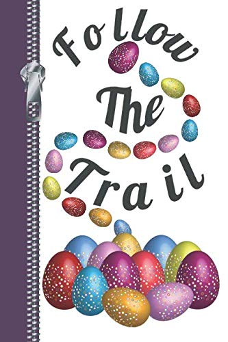 Follow The Trail: Easter Egg Hunt Sketchbook Writing Journal Combo Book ()