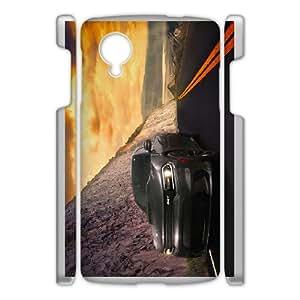 Google Nexus 5 Cell Phone Case , COOL CAR Theme Custom Phone Case