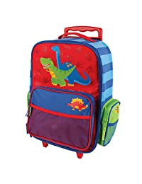 Stephen Joseph Little Boy's Classic Rolling Luggage, Accessory, Dino, No Size