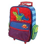 Stephen Joseph Little Boy's Classic Rolling Luggage, Accessory, Dino, No Size