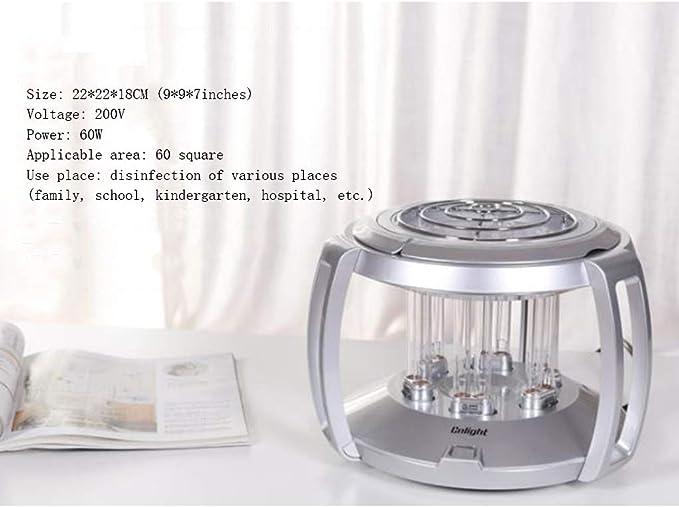 Amazon.com: Lámpara de desinfección UV para interiores y ...