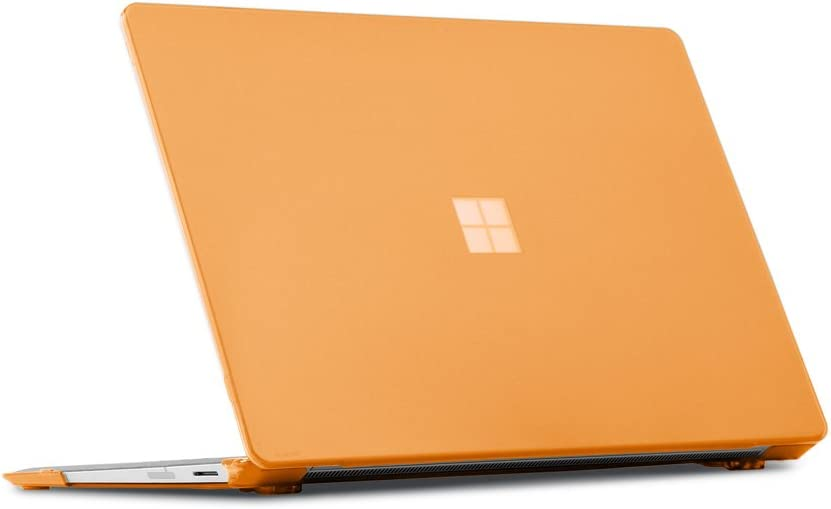 mCover Hard Shell Case for 2019 15-inch Microsoft Surface Laptop 3 Computer (Released After Oct. 2019) - MS-SFL3-15 Orange