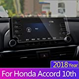 2018 Honda Accord Sport EX EX-L Touring EX-L Navigation Screen Protector, Lamshaw 9H Tempered Glass Screen Scratch-Resistant Ultra HD Extreme Clarity (8-inch)