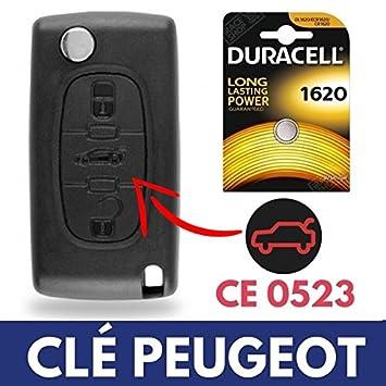 Carcasa/Caja para Mando a Distancia Llave Jongo Peugeot ...