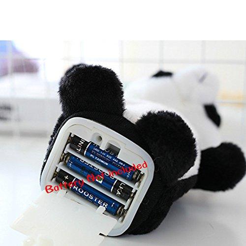 Talking Panda Repeats What You Say Electronic Pet Plush Toys Sound Record Plush Panda Talking Plush Panda Best Gift For kids,18 cm//7 inch Healthy Care