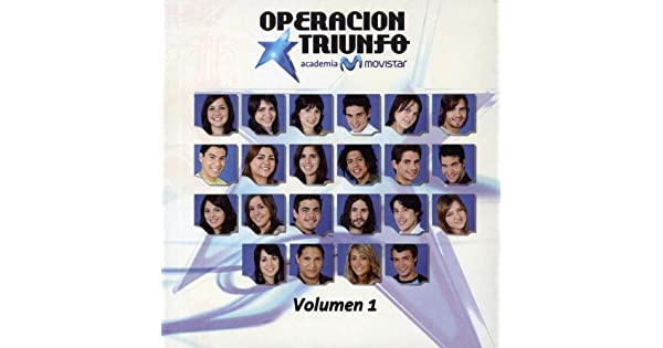 Amazon.com: Vol. 1-Operacion Triunfo 3 (Academia Movistar ...