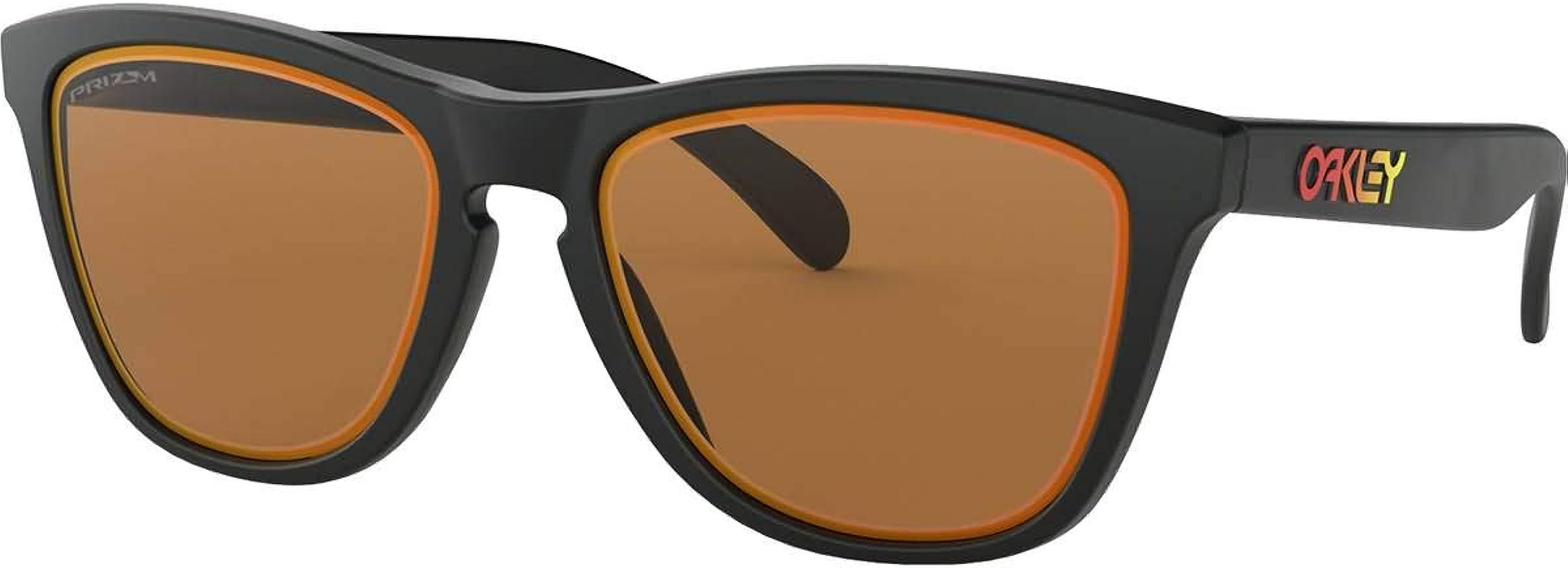 Amazon.com: Oakley Frogskin - Gafas de sol, Negro: Shoes