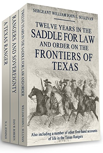 Twelve Years in the Saddle for Law and Order on the Frontiers of Texas cover