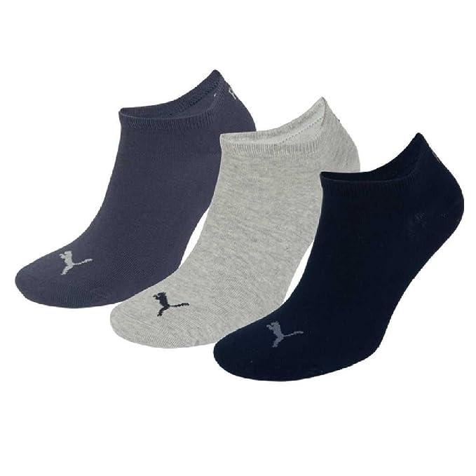 6 Paar Herren Puma Sneaker Socken schwarz