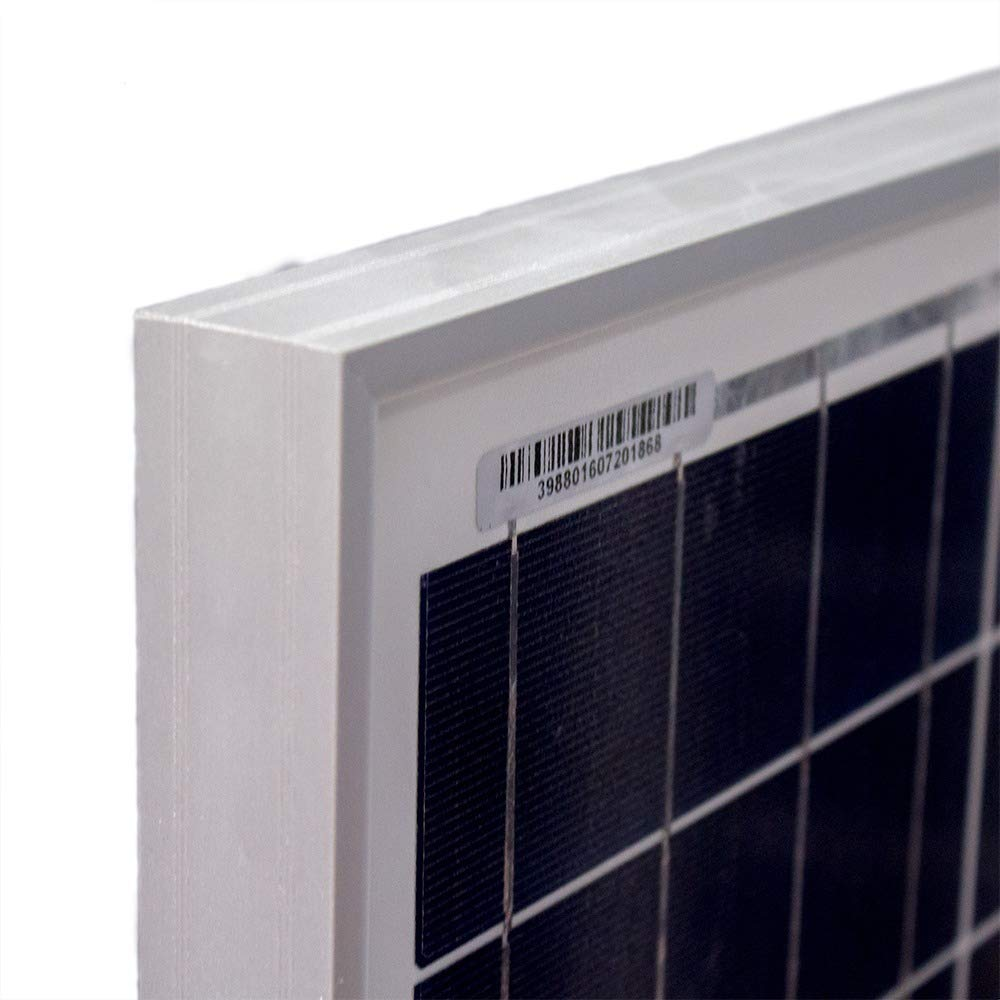 50 Watt Polycrystalline Solar Panel - Mighty Max Battery brand product by Mighty Max Battery (Image #2)