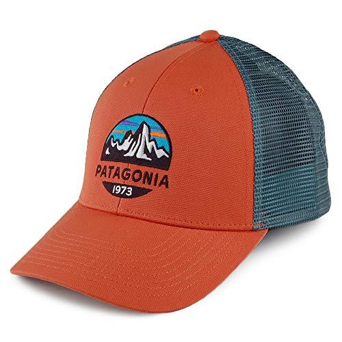 Patagonia Fitz Roy Scope LoPro Trucker Hat - Sunset Orange