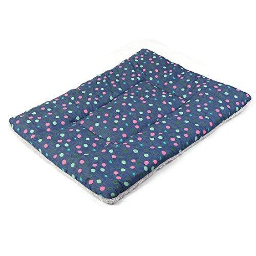 Amazon.com : eDealMax Tela de toalla Forma de rectángulo Animal doméstico del perro del gato agitan el Punto Manta Impreso Cojín cama : Pet Supplies
