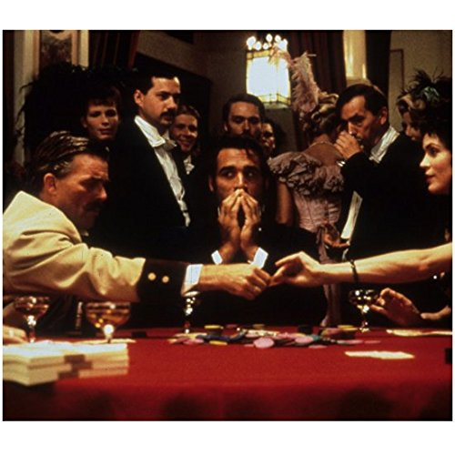 Highlander Adrian Paul as Duncan MacLeod Playing Poker with Others at Casino 8 x 10 inch photo