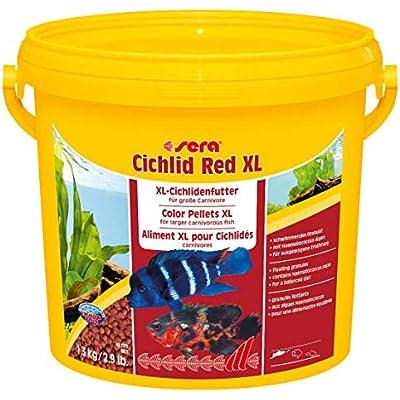 Sera 215 Cichlid Red XL 3800 ml Pet Food, One Size