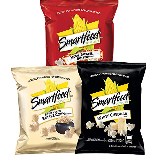 Smartfood Popcorn Variety Pack, 40 count ()