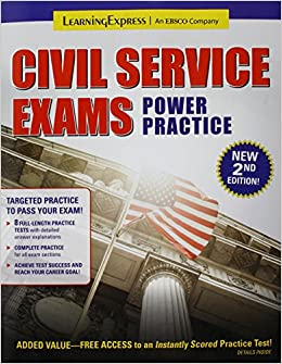 Civil Service Exams Power Practice Amazon Co Uk Learningexpress Llc 9781611030891 Books