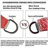Shade&Beyond Sun Shade Sail Right Angle Canopy