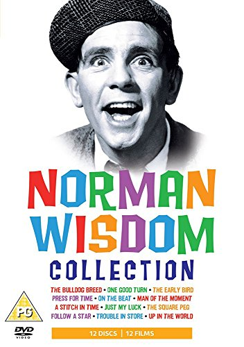 Norman Wisdom Collection - 12-DVD Box Set ( The Bulldog Breed / One Good Turn / The Early Bird / Press for Time / On the Beat / Man of the Moment [ NON-USA FORMAT, PAL, Reg.2 Import - United Kingdom ]