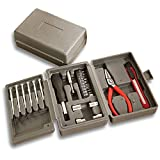 Fincos KC-XL10 24PC Home Multi-Purpose Hand Tools Sewing Drilling DIY Tools Hardware Combination Toolbox Kit
