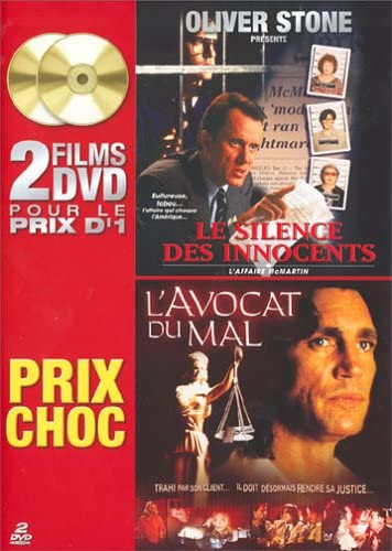 Le Silence des innocents - L'affaire Mc Martin / L'avocat du mal - Coffret 2 DVD