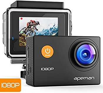 Apeman 1080P Full HD 12MP Waterproof Underwater Action Camera