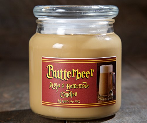 Harry Potter Butterbeer Soy Candle - 16 oz. Apothecary Jar