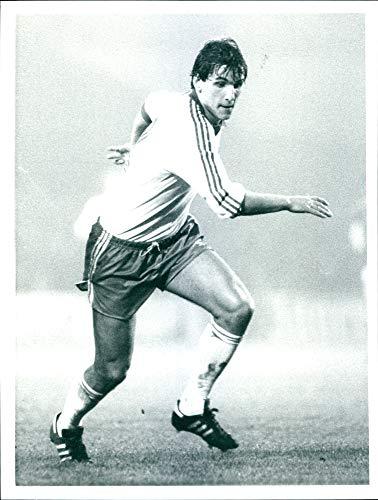 (Vintage photo of Thomas Kroth, FC Cologne)