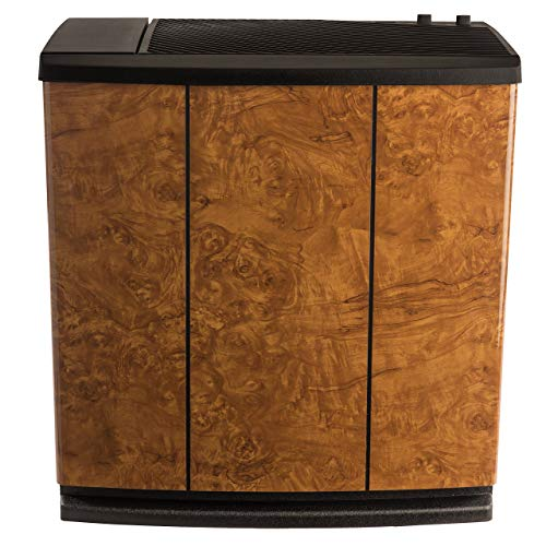AIRCARE H12-400HB 3-Speed Whole-House Console-Style Evaporative Humidifier, Oak Burl (Renewed)
