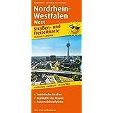Nordrhein-Westfalen West: Straßen- und Freizeitkarte mit Touristischen Straßen, Highlights der Region und Reisemobilstellplätzen. 1:200000 (Straßen- und Freizeitkarte/StuF)