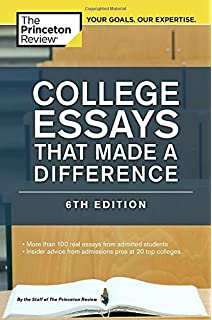 successful college application essays third edition the college essays that made a difference 6th edition college admissions guides