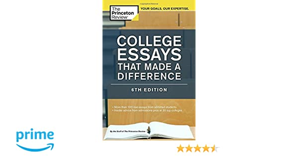 College Essays that Made a Difference by Princeton Review     Haad Yao Overbay Resort