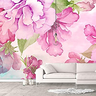 Stunning Print, Wall Murals for Bedroom Green Plants Animals Removable Wallpaper Peel and Stick Wall Stickers, Created By a Professional Artist