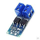 Almencla 5pcs MOSFET MOS FET Trigger Switch Driver Module PWM Regulator Control Panel