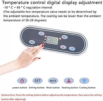 AQBX Refrigerador Compresor Portátil Congelador 19 L Mini Insulina ...