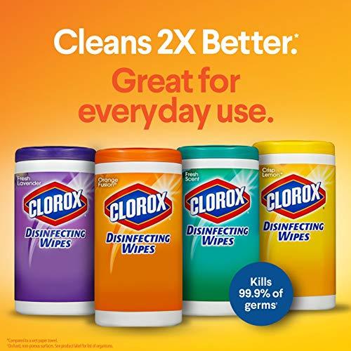 Clorox Disinfecting Wipes Value Pack Crisp Lemon And