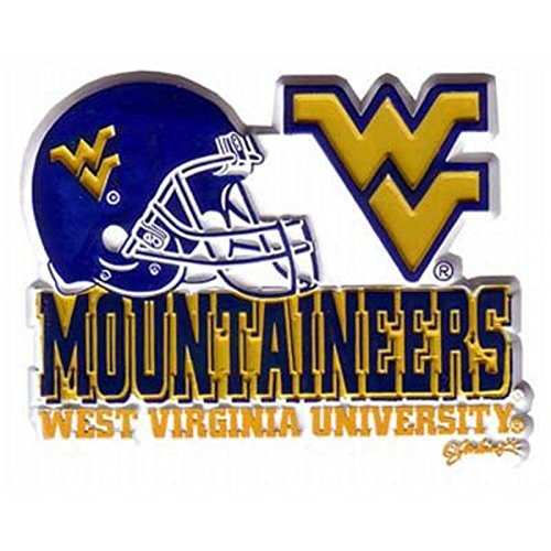 West Virginia Mountaineers Helmet Magnet