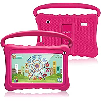 Pill for Children,Children Pill 7 Android Children Tablets for Toddlers Children Pre-Put in Studying Toy Pill IPS Eye Safety WiFi Digital camera Google Play Retailer 1GB+16GB Guardian Management with Shockproof Case