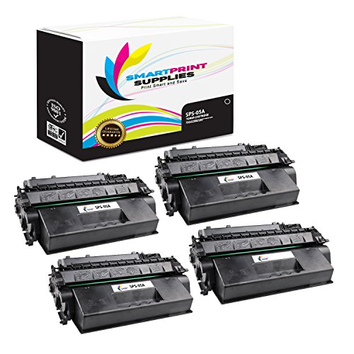 (Smart Print Supplies Compatible 05A CE505A Black Toner Cartridge Replacement for HP Laserjet P2030 2050 Series Printers (2,300 Pages) - 4)