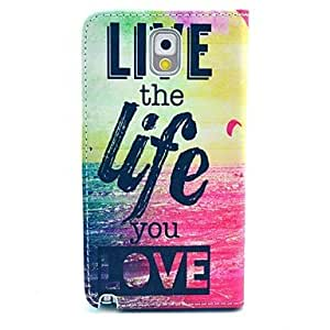 YULIN Samsung Galaxy Note 3 compatible Graphic/Special Design PU Leather Full Body Cases