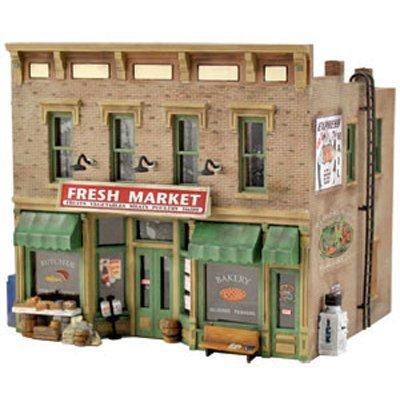 Woodland Scenics HO Scale Pre-Fab Building/Structure Kit Fresh Market