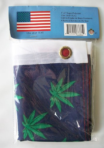 USA Leaf Flag - 3