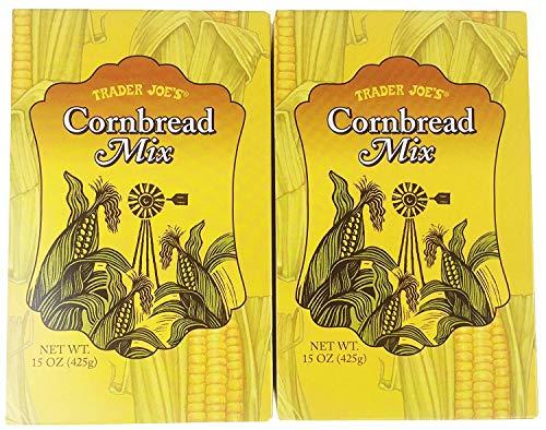 Trader Joe's Cornbread Mix (Pack of 2 - 15 oz boxes) (Trader Joe Bread)
