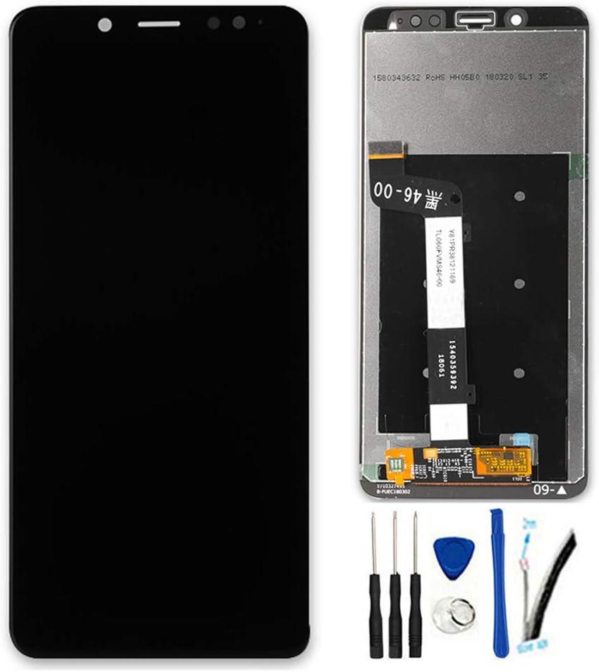 SOMEFUN LCD Visualización Digitalizador Pantalla táctil Vidrio Panel Montaje Reemplazo para Xiaomi Redmi Note5 Pro/Note 5 Pro 5.99