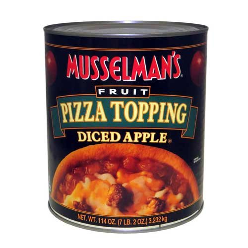 Knouse Foods Musselmans Assorted Pizza Topping, 114 Ounce -- 6 per case. by Knouse Foods (Image #1)