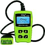 JDiag JD101 OBD2 Code Reader Car Scanner Diagnostic Tool Engine Fault Code Reader Check Engine...